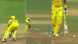 IPL 2018, CSK vs MI: Ball Hit Stumps, Nothing Happens, Dwayne Bravo's LUCKY ESCAPE -- WATCH