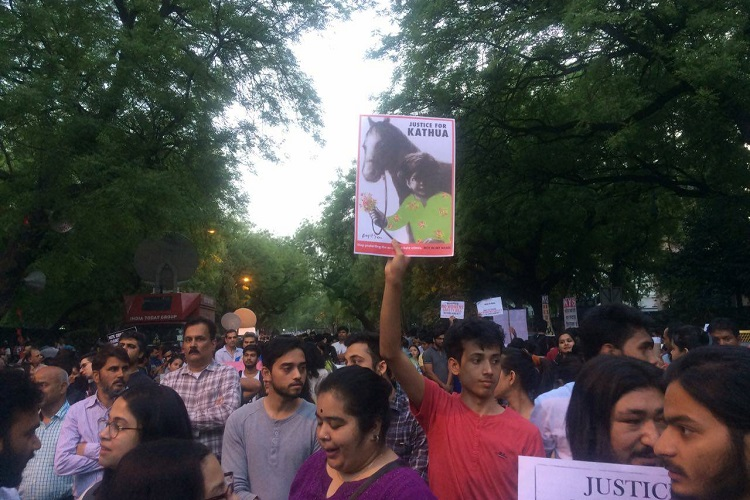 'Our Legislator Is Innocent', Cry Unnao Locals In Protest March For Rape Accused