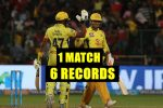 IPL 2018, RCB vs CSK: MS Dhoni Creates A T20 World Record, 5 IPLRecords!