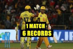 IPL 2018, RCB vs CSK: MS Dhoni Creates A T20 World Record, 5 IPL Records!