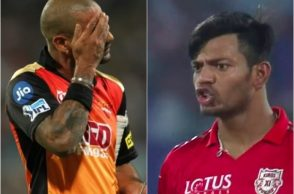 IPL 2018: KXIP's Ankit Rajpoot Gives 'Abusive' Send-Off To Shikhar Dhawan – WATCH