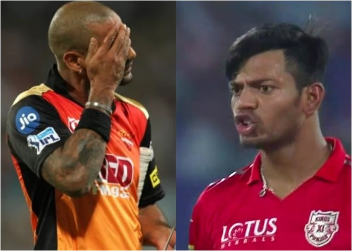 IPL 2018: KXIP's Ankit Rajpoot Gives 'Abusive' Send-Off To Shikhar Dhawan — WATCH