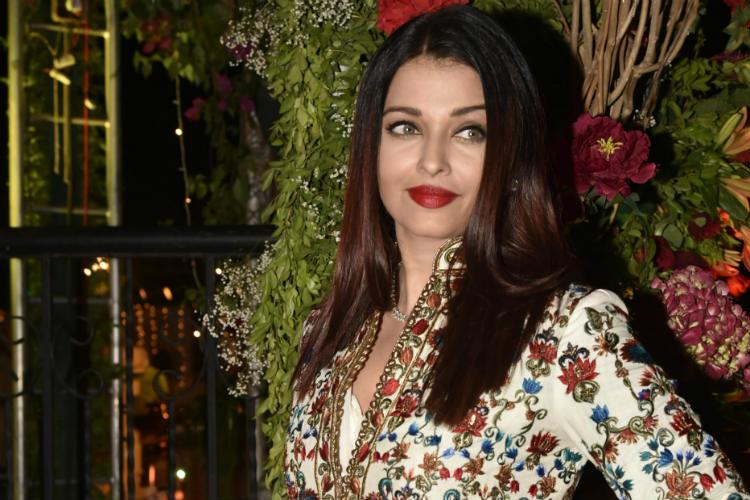 Aishwarya Rai Bachchan at a wedding reception