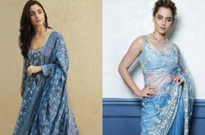 Alia Bhatt, Kangana Ranaut in Anita Dongre outfits