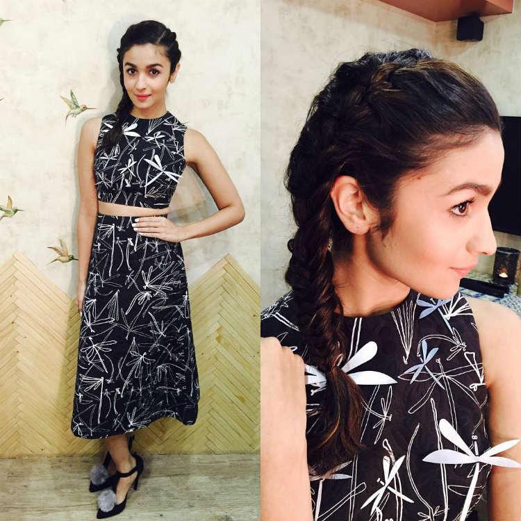 Alia Bhatt hairstyles