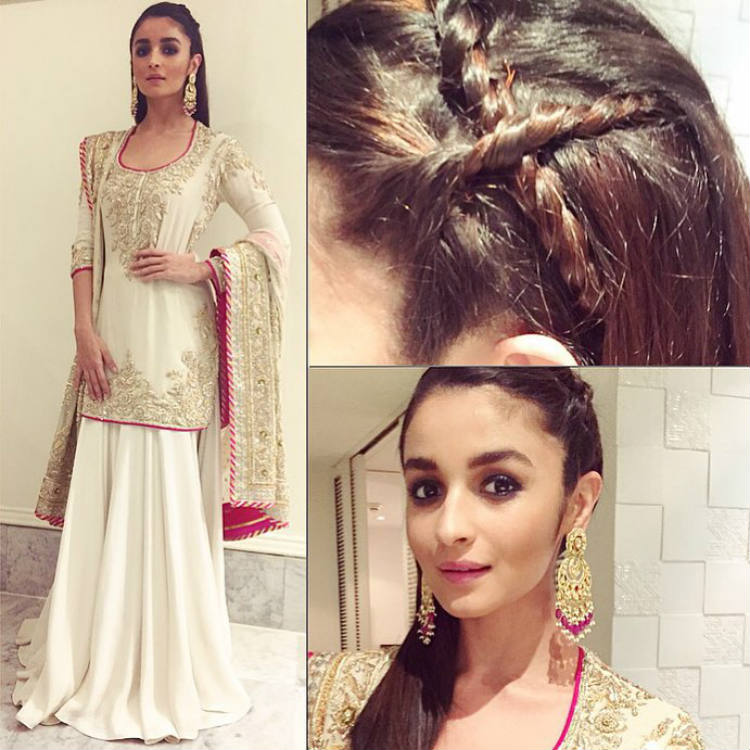 7 Alia Bhatt Inspired Braids To Avoid Bad Hair Days This Summer