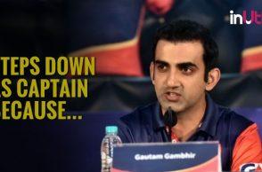 IPL 2018: Gautam Gambhir Steps Down as Delhi Captain
