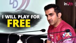 IPL 2018: Gautam Gambhir To Play Rest Of IPL 2018 Season For Free