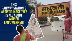 Madhubani Railway Station's Artistic Makeover Is All About Women Empowerment