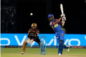 Ajinkya Rahane, Four 4s Narine, Ajinkya Rahane 4 fours, Dinesh Karthik stumping IPL 2018, Dinesh Karthik best stumping, IPL 2018 best stumpings, Ajinkya Rahane wicket, Rajasthan Royals vs Kolkata Knight Riders, RR vs KKR, Kolkata Knight Riders vs Rajasthan Royals, IPL 2018, IPL Live, IPL 2018 Live, VIVO IPL, VIVO IPL 2018, Match 15