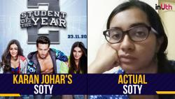 A Girl Sent A Pic Of A *Real* Student Of The Year To Karan Johar And We're So Glad