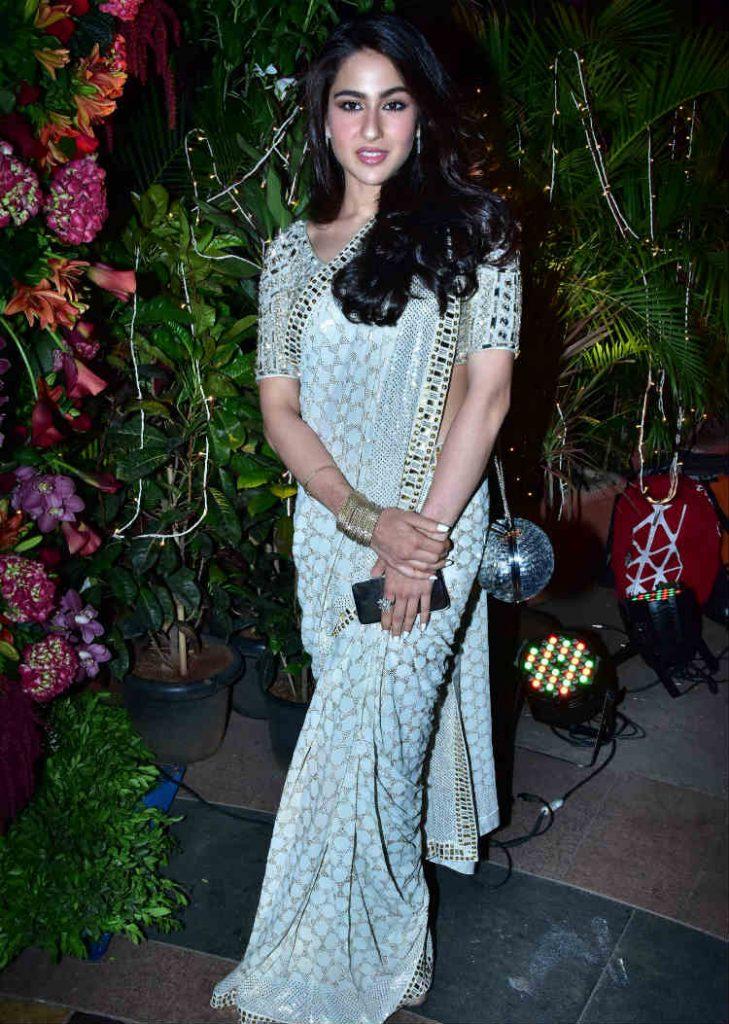 Sara Ali Khan at a wedding reception