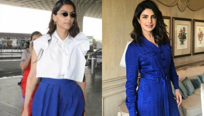Sonam Kapoor, Priyanka Chopra in shades of blue