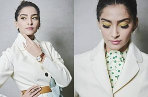 Sonam Kapoor for IWC's 150th anniversary celebration