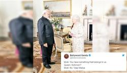 PM Modi Meets Queen Elizabeth And Twitter Makes A Meme Fest Out Of It