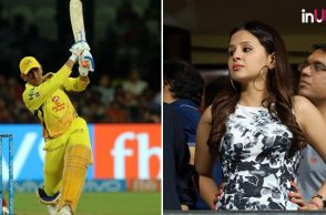 IPL 2018: This Is What Sakshi Said To Dhoni From Stands During RCB vs CSK Clash