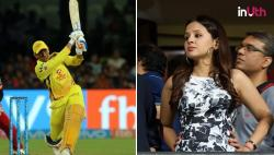 IPL 2018: This Is What Sakshi Said To Dhoni From Stands During RCB vs CSK Clash — WATCH