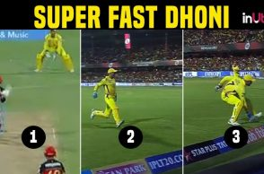 IPL 2018: Wicketkeeper MS Dhoni miraculously save 2 runs at boundary rope – WATCH