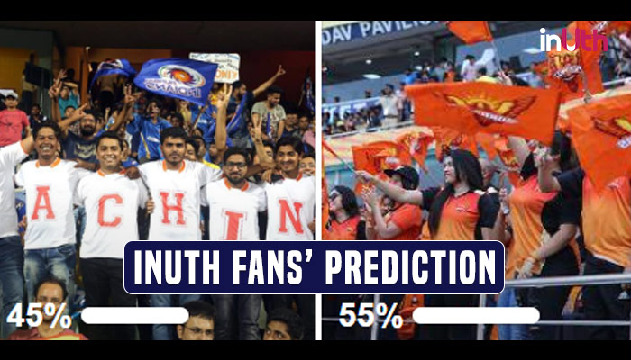 IPL 2018, MI vs SRH, Match 22: MI Can't Grab A Victory Tonight Against SRH — InUth Poll Prediction