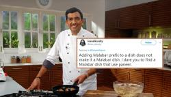 Sanjeev Kapoor Posted A Recipe For Malabar Paneer, Twitter Roasted Him Mercilessly
