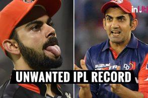 IPL 2018, DD v RCB: Gautam Gambhir, Virat Kohli Will Surely Avoid Setting This Unwanted Record