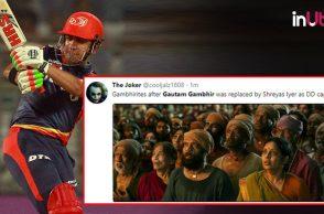 Gautam Gambhir steps down as captain, Gautam Gambhir leaves captaincy, Gautam Gambhir Delhi Daredevils, Gautam Gambhir DD, Shreyas Iyer DD captain, IPL 2018, IPL Live, IPL 2018 Live, VIVO IPL, VIVO IPL 2018, Gautam Gambhir Twitter reactions