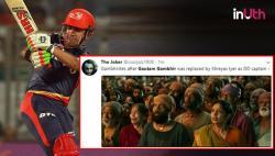 IPL 2018: Twitterati React To Gautam Gambhir's Shocking Decision To Leave Delhi Daredevils' Captaincy