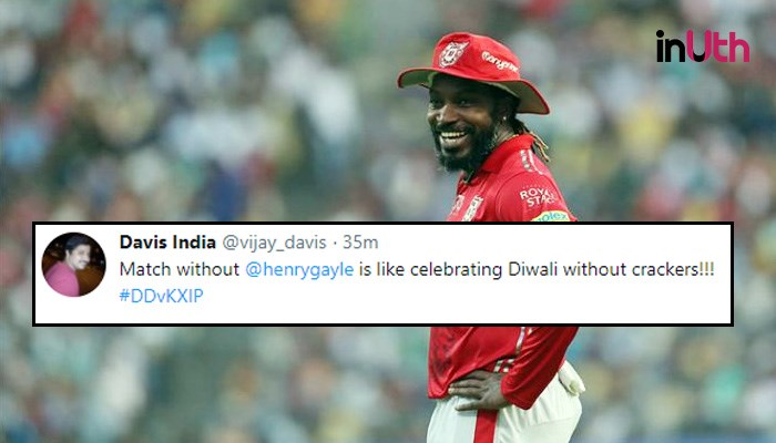 IPL 2018, DD vs KXIP: 'No Chris Gayle Tonight,' Twitterati Say 'Match Is Fixed'