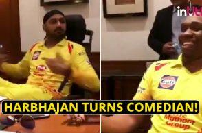 Harbhajan Singh CSK funny, Dwayne Bravo funny, Suresh Raina laughing, Chennai Super Kings, IPL 2018, IPL Live, IPL 2018 Live, VIVO IPL, VIVO IPL 2018, Sam Billings funny