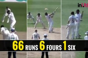 Ishant Sharma County half-century, Ishant Sharma 66 Sussex, Ishant Sharma 50 vs Leicestershire, County Championship Division 2, Ishant Sharma five wickets, Ishant Sharma County performance, Sussex vs Leicestershire, Leicestershire vs Sussex
