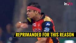 IPL 2018: Siddarth Kaul Reprimanded For Level 1 Offence. Here's Why — WATCH