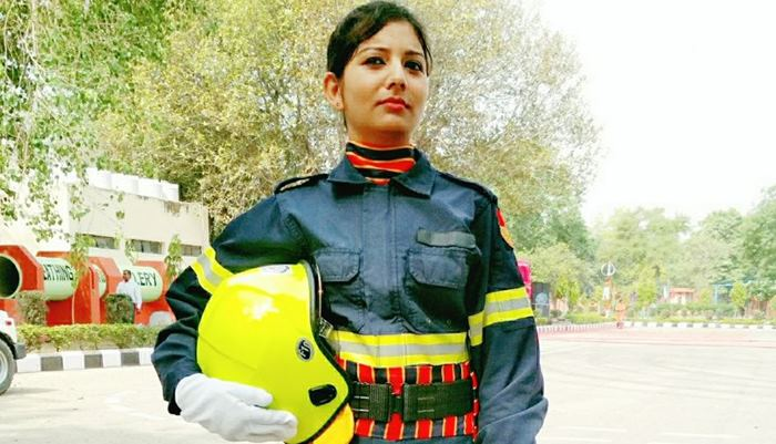 Meet Taniya Sanyal, The First Woman Firefighter From Kolkata To Join Services At Indian Airports