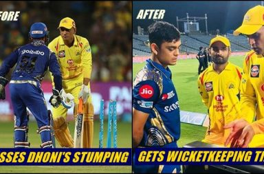 IPL 2018 CSK vs MI: MS Dhoni's This Picture With Ishan Kishan Is Going Viral