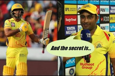 IPL 2018: Ambati Rayudu Reveals The Secret Behind His Improved Batting For CSK — Watch