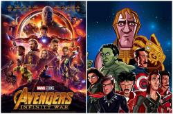This Cartoonist Has A 1990s Bollywood Dream Cast For 'Avengers:Infinity War' And We Are Fangirl/Boying Already