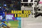 IPL 2018, MI vs RR: Ajinkya Rahane Does A Jonty Rhodes To Dismiss Rohit Sharma For Golden Duck —WATCH
