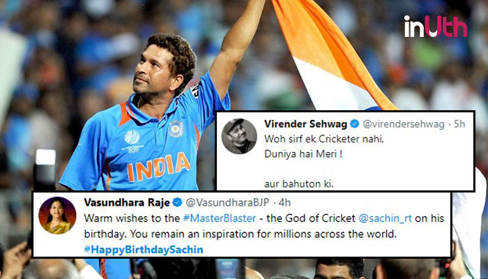 Happy Birthday Sachin: Brett Lee To Saqlain Mushtaq, Here's How Cricketers Wished The Legend!