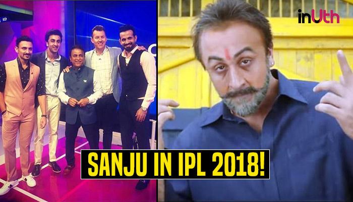 IPL 2018, MI vs SRH: Ranbir Kapoor Attends IPL Chat Show To Promote 'Sanju' — SeePics