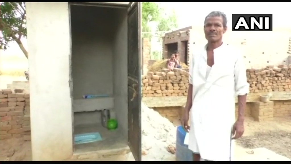 UP Farmer Ends Family's Misery, Sells Off Goats To Build Toilet