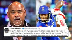 IPL 2018: Vinod Kambli Criticizes Commentators For Lauding Sanju Samson, Faces Backlash On Twitter