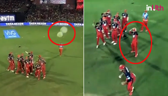 IPL 2018: Virat Kohli's Hilarious Reaction To Mandeep Singh Hitting Spider-Cam With The Ball — Watch
