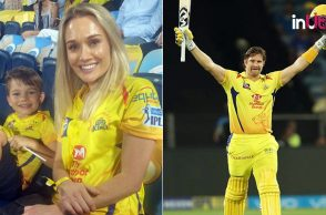 Shane Watson century IPL 2018, Shane Watson IPL 3rd century, Shane Watson CSK century, Shane Watson wife Lee Furlong, Shane Watson son William, VIVO IPL 2018, VIVO IPL, IPL 2018 Live, IPL 2018, CSK vs RR, CSK vs RR Live Streaming, CSK vs RR Timings, CSK vs RR full team, IPL Points Table 2018, cricket news, ipl news, IPL 2018 CSK vs RR Updates, CSK vs RR, Chennai Super Kings vs Rajasthan Royals, VIVO IPL, VIVO IPL 2018