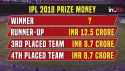 IPL 2018, Prize List: Here's How Much Money The IPL 2018 Winner Will Get
