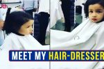 IPL 2018: Like MS Dhoni, Ziva Has A Personal Hair-Dresser Too! — WATCH