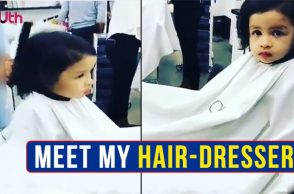 IPL 2018: Like MS Dhoni, Ziva Has A Personal Hair-Dresser Too!