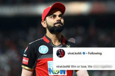 IPL 2018: Virat Kohli Comes Up With Emotional Message After Getting Almost Eliminated From Playoffs