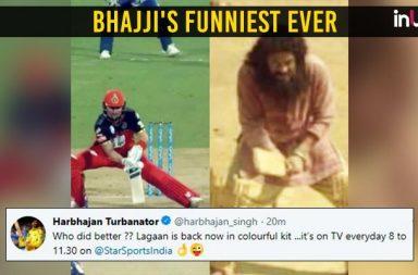 Harbhajan Singh trolls AB de Villiers