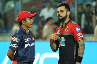IPL 2018: Prithvi Shaw In 'Deep Conversation' With Virat Kohli After Losing To RCB