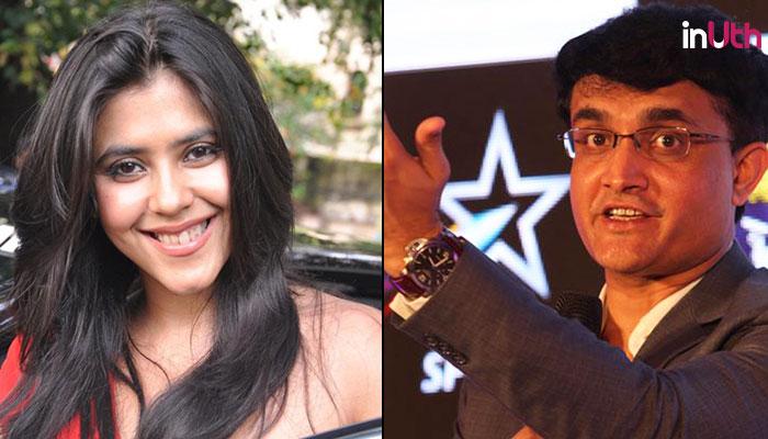 Ekta Kapoor's Alt-Balaji Working On Sourav Ganguly Biopic. Yes, We're Concerned AsWell
