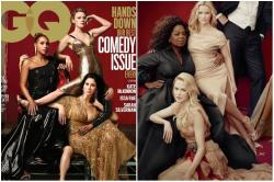 GQ's Latest Cover Mocking Vanity Fair's Photoshop Fail Is As Good As Trolling Can Get